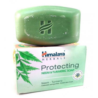 HIMALAYA PROTECTING NEEM & TURMERIC SOAP 75G