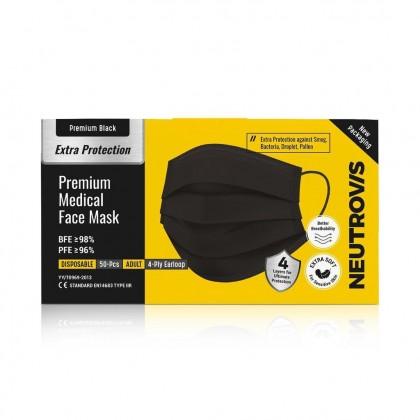NEUTROVIS PREMIUM MEDICAL MASK BLACK
